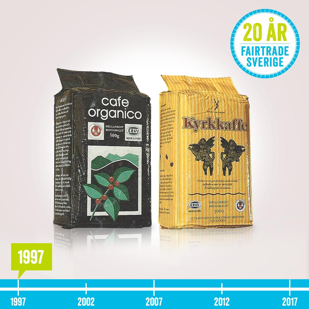 Först i Sverige med Fairtrade-kaffe