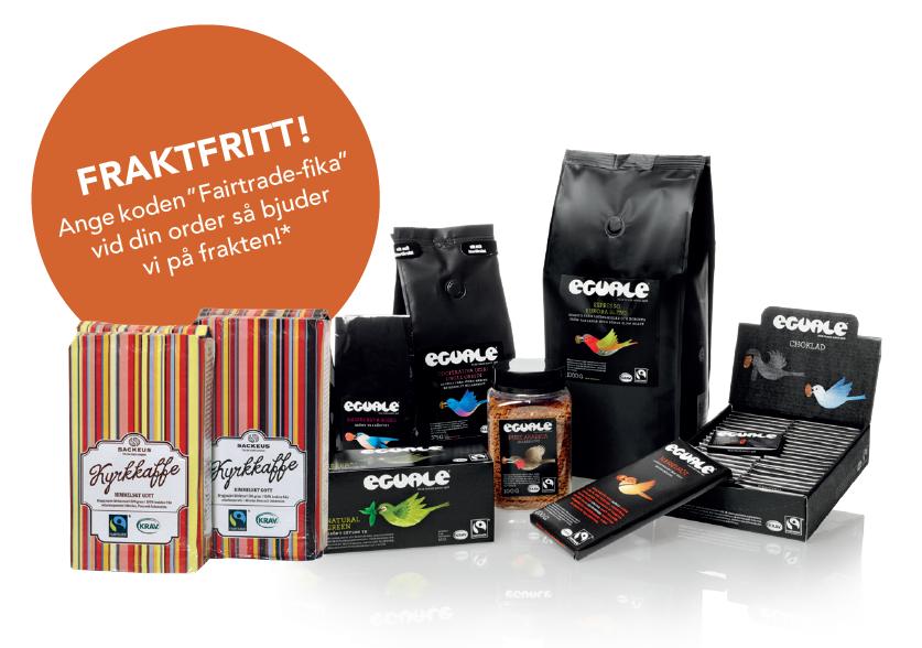 Godsaker inför World Fairtrade Challenge