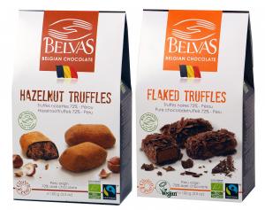 Chokladtryfflar Belvas